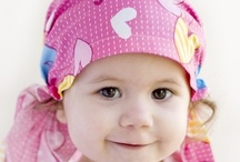 Headwear and scarves / A selection of fashionable headwear and scarves as an alternative to wearing a wig.