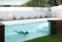 Swimming Pools / Amazingly designed outdoor pool areas.