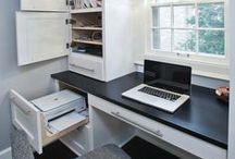 Home Office / Beautiful work spaces.