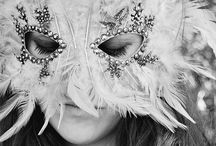 Masquerade / Every face a different shade. Masquerade.