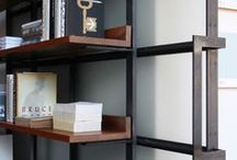 Bookshelves / How to present your library.