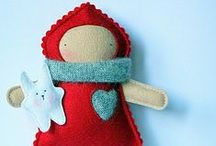 So (Sew) Handmade / Felt, Yo-yos and other cute stitching projects for fun gifts. / by Ms. Sadie