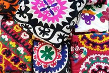 Colorful inspirations  / Textiles, decor, bracelets, clothing, ethnic everything / by Lilly Ortiz