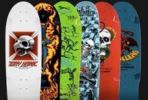 Skateboard Decks / Skateboard decks of all shapes and sizes