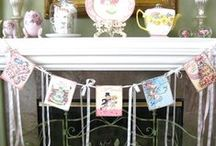 back drops. buntings and styles / BANNERS  / by Denise Pottmeyer