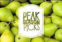 Peak Season Pick: Bartlett Pears