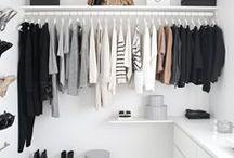 Closets to Covet! / Closets we dream of.