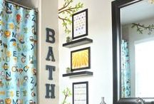 Bathroom inspiration / by Michelle Jund