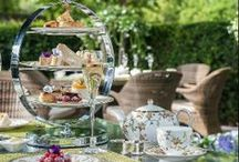 Tea | Afternoon Tea / Tea Lounges, Restaurants, and Gardens from our luxury hotel and restaurant clients around the world.