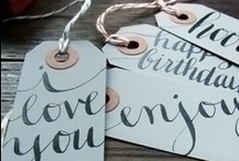 DIY - gifting / create-ables / by Cindy Laxton {Happy Thoughts & Things}