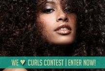 We <3 Curls! / We are showing some <3 for curls for V-Day! If you are naturally curly, pin curled or all done up with a curling iron, email us a pic of your best look to contest@madewomanmag.com. We will pick our favorite entry and the winner will receive a Valentine's Day care package from Mixed Chicks!