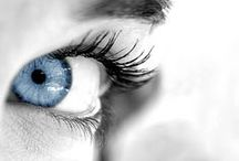 Beauty of eyes and faces