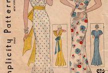 30's Fashion Illustrations / by Jayne KauzLoric