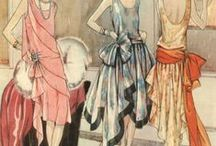 20's and earlier Fashion Illustrations / by Jayne KauzLoric