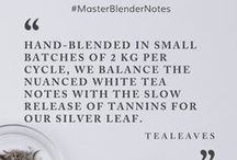 Tea Tips |#MasterBlenderNotes / TEALEAVES is one of the very few tea blenders in the world. We don't buy and repackage, but procure the world's best ingredients and hand-blend teas and herbals at our Vancouver Blending Center. #MasterBlenderNotes seeks to share our knowledge, passion, and love for everything tea.