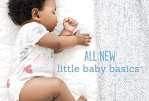 little baby basics / When building baby's first wardrobe, start with the babysoft basics.