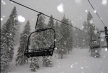 Snow makes me happy