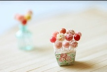 Miniature pretend food... its just so clever!