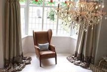 Vintage Swish Curtains / Vintage Swish Curtains For Sale