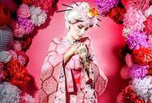 KIMONOS AND JAPANESE COSTUMES / by Susan Harris