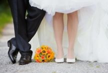 Inspired Orange Weddings