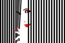 it's a striped
