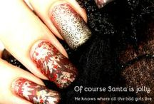 Christmas Inspiration / Great Chrissy nails and be inspired by our fabulously festive manis! / by Messy Mansion