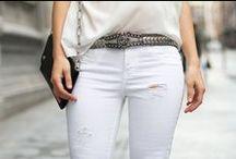 ¿Cómo usar pantalones blancos? / by Dafiti México