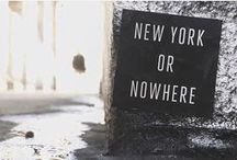 : new york or nowhere : / by Julie Cooper