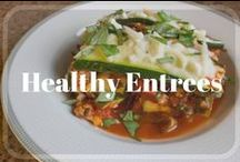 Healthy Entrees / Healthy Entree and Dinner Recipes.  Stay on track with clean eating by trying these easy recipes.  These recipes are animal protein / meat based.