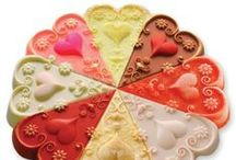 Valentine's Day - All About Love / Fun and beautiful activities, crafts, inspirations for February 14.   / by Denise McGuire