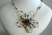 Aavenya Designs / A board showcasing my jewellery pieces