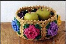 Crochet Bags/Baskets / by Kay Barr