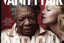 Vanity Fair – The Africa Issue / Annie Leibovitz photographed 21 people for 20 different covers of the Vanity Fair Africa Issue, guest edited by (RED) co-founder Bono. The articles addressed the crises that Africa faces, but also delved into the beauty of the continent, covering African music, art and literature. / by (RED)
