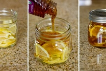 Honey / Uses for our homegrown honey.  Real honey is a natural preservative and natural antibiotic.  The stuff in the store isn't always real honey, but often flavored molasses.  Buy from a local beekeeper to bee certain.  ;)