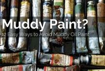 In My Studio / Take a peek into my Studio!  Oil painting tips, art lessons and artist studio ideas.