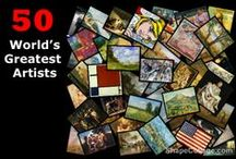 50 World's Greatest Artists / Who would make your list of greatest artists ever?