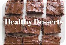 Healthy Desserts / Easy, sugar free or low-sugar healthy dessert recipes.  Including Under 100 Calories!
