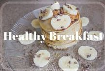 Healthy Breakfast Recipies / Easy, on the go, healthy breakfast recipes for weight loss.