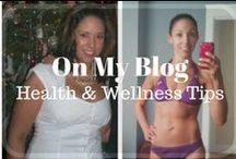 On My Blog - Health & Wellness Tips / Health and Wellness tips for women, detox and remedies.  Find more on my blog: www.thehappyhealthfreak.com