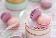 Macaron Madness / Macarons, delicate French sweet meringue-based confection, are beautiful little bites of heaven.