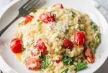 Risotto Indulgence / Risotto, so creamy and indulgent, a treat for a special date night or weeknight dinner taken up a notch.