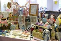 craft fair display ideas / by Denise McGuire