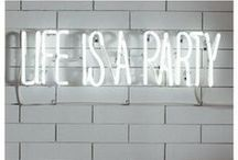 """[ Life is a Party ] / """"Life is a party . . . celebrate every moment"""" / by Gia Nu"""