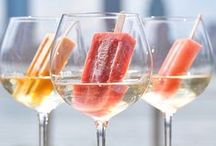 Frozen Treats / Popsicles, ice cream, sorbet, and other treats from the freezer for a refreshing summer day.