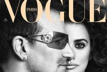 French Vogue turns (RED) / Penelope Cruz guest edited the June 2010 issue of French Vogue – and she did it in true (RED) style. The Spanish actress reunited people she loves and who inspire her: Bono, Kate Winslet, Julianne Moore, Naomi Watts, Gwyneth Paltrow, and Meryl Streep - all who posed in Gap (PRODUCT) RED™ or Emporio Armani (PRODUCT) RED. And for the occasion, the magazine revealed 3 different covers. We love them all. A big thanks to Penelope for helping support (RED) in its work to help eliminate AIDS in Africa. / by (RED)