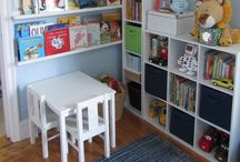 Kid rooms / by Sarah Leftwich