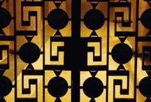 Color: Black & Gold / by Dawn Gibson