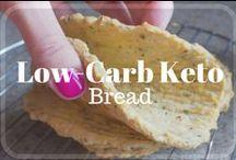Low-Carb Keto - Bread / Easy Low-Carb Low-Sugar Bread Recipes - Keto, Ketogenic