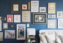 decor - gallery wall / by Lindsay King